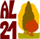 Logo. Agenda Local 21. AL21. Ponferrada. 2009.