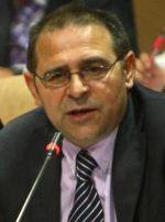 Fernando de la Torre cuando era portavoz del PSOE. Ponferrada, 16 abril 2009. Fuente: diariodeleon.es.