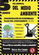 Cartel. Día Mundial del Medio Ambiente. 5 jun. 2009. Unecologistaenelbierzo.wordpress.com.