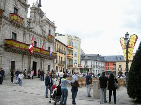 Ponferrada dispondrá de una Oficina de la Movilidad. Ponferrada, 6 sept. 2008. Foto: Enrique L. Manzano.