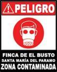 Cartel. Denuncia vecinal del Depósito Temporal de Residuos del Busto. Santa María del Páramo (León). 2007.