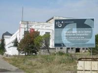 Edificio de la futura sede de la Ciuden.  Ponferrada, 12 sept. 2009. Foto: Enrique L. Manzano.