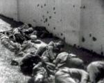 Fusilamiento de civiles durante la Guerra civil española. Fuente: aricomemoriaaragonesa.wordpress.com.