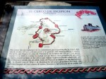 El general romano Escipión puso cerco a Numancia para acabar con la resistencia de los arévacos en el año 133 AC.  Garray, 1 agosto 2009. Fuente: unecologistaenelbierzo.wordpress.com. Foto: Enrique L. Manzano.