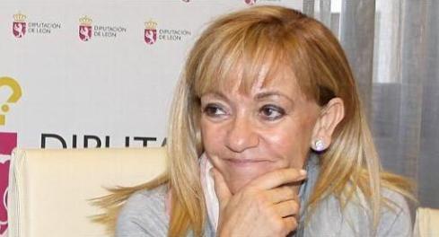 La presidenta de la Diputación Provincial de León, Isabel Carrasco.