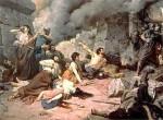 Representación pictórica del asedio a Numancia. Fuente: terraeantiqvae.blogia.com.