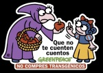 Campaña 'No compres transgénicos'. Greenpeace. 2009. Greenpeace.org.