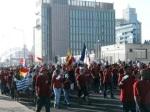 Manifestantes suramericanos contra el cambio climático en Copenhague. 12 dic. 2009. Fuente: elclarin.com.