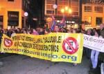 Ecologistas en Acción del Bierzo en la manifestación contra la deficiente gestión de Gersul. Ponferrada, 27 nov. 2009.