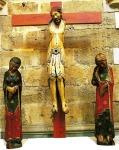 El calvario de la iglesia de San Miguel en Corullón. Ecobierzo.org.
