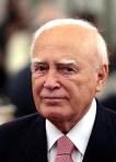 El expresidente griego Karolus Papoulias. 2009. Wikipedia.org.