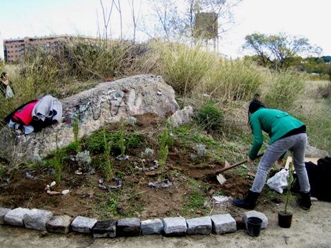 La 'guerrilla' verde. Lahuertitadetetuan.blogspot.com.