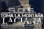 Cartel. S.O.S. Toma la Montaña. Sosas de Laciana, 26 agosto - 5 sept.2011.