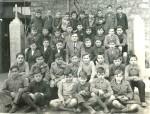 Escuela de Don Felipe Sánchez Rincón. Ponferrada, 1936. Copyright: Enrique López Manzano.