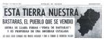 'Esta tierra es nuestra'. Heraldo de Aragón.com. 2 mayo 1976. Zaragozame.com.
