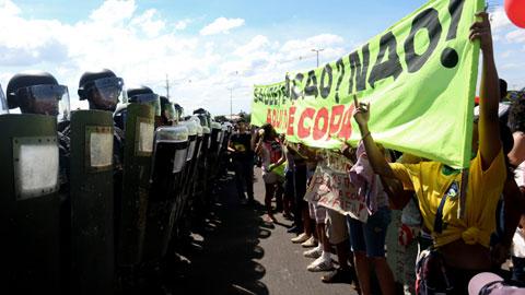 Manifestaciones en Brasil. 19 junio 2013. Nuevatribuna.es.