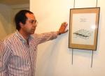 Santiago Castelao. Exposición 'Secreto a voces'. Ponferrada, 4 junio 2013. Foto ELM.