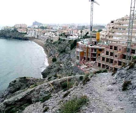 Urbanismo. Ley de Costas. Especulación inmobiliaria en Murcia. Fuente: urbanismopatasarriba.blogspot.com.es.