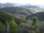 Panorámica de los Montes Aquilianos vistos desde el Pajariel. 6 oct. 2008. Foto: Enrique L. Manzano.