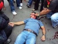El docente Roger Vallejo resultó mortalmente herido de un disparo en la cabeza. 29 julio 2009. Tercerainformacion.es.