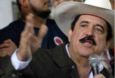 El presidente elcto de Honduras, Manuel Zelaya. 3 agosto 2009. Panamericana.com.