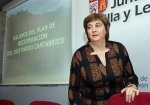 La ex consejera de Medio Ambiente de la Junta de Castilla y León, María Jesús Ruiz Ruiz, en su etapa al frente de la Consejería.