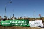 Protesta de la Plataforma Córdoba Aire Limpio contra la cementera Cosmos. 2013. Fuente: cordobaairelimpio.org.