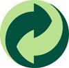 El círculo verde es el símbolo que acredita la pertenecia a Ecoembe. 2009. Fuente: ecoembe.com.
