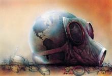 La Tierra está llegando a un punto de no retorno que nos exige movilizarnos contra el cambio climático. 2009. Avaaz.org.