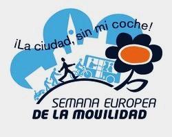 Logo. Semana Europea de la Movilidad. Ponferrada, 16 - 22 sept. 2009. Fuente: unecologistaenelbierzo.wordpress.com.