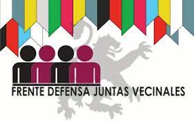 Logo. Frente para la Defensa de las Juntas Vecinales. 2012. Fuente: esllabon,blogspot.com.