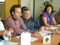 Una intervemción de Marcos Prada. Ponferrada, 10 oct. 2009. Foto: Enrique L. Manzano.