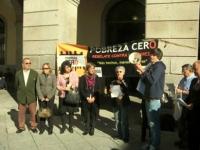 Día Internacional Contra la pobreza. Ávila, 2009.