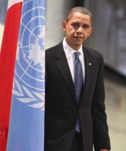 El presidente norteamericano Barack Obama se perfila como el gran vencedor en una cumbre fracasada. Copenhague, 18 dic. 2009. Elpais.com. AP.