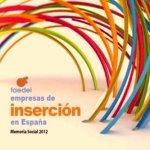 Empresas de inserción en España (Faedei). Fuente: faedei.org.
