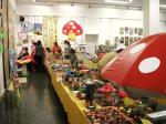 Imaginación, fantasía, creatividad y colorido no faltaron en la participación escolar en las Jornadas micológicas. Ponferrada,  10-13 nov. 2009. Foto: Enrique L. Manzano.