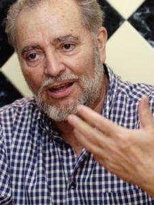 El ex coordinador general de Izquierda Unida, Julio Anguita. 2009. Fuente: publico.es.