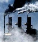Las chimeneas podrán continuar emitiendo CO2 con la misma libertad que antes de la COP15. Copenhague, 18 dic. 2009.