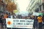 Manifestación de 'Globalízate' contra el cambio climático. Madrid, 2007.