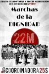 Marchas de la Dignidad. 22M. Madrid, 22 marzo 2014.