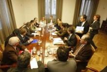 Una reunión del Consorcio.