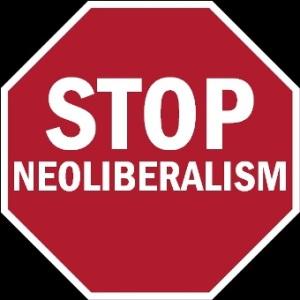 'Stop Neoliberalismo'. 6 jun. 2006. Fuente: wikipedia.org. Autor: Davius.