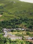 Vista general de Montes de Valdueza. 19 agosto 2008.  Unecologistaenelbierzo. Foto: Enrique López Manzano.
