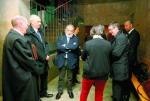 Algunos de los imputados en el juicio de la 'Ciudad del Golf. Valladolid, 3 marzo 2014. Diariodeavila.
