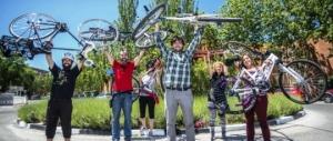Ciclistas en Rivas-Vaciamadrid. 2013. Rivasciudad.es.