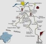 Descripción de los pueblos en la ruta de los Montes Aquilianos. 2010. Fuente: ccb.com.