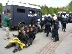 COP15. Represión policial contra los defensores de la sostenibilidad planetaria. Copenhague, 7 - 18 dic. 2009.