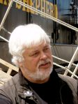 Paul Watson, capitán del Sea Shepherd. 17 enero 2009. Wikipedia. Foto: Witty lama.