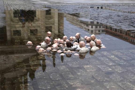 Políticos discutiendo sobre el cambio climático. 2014. Facebook.com.
