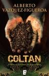Portada del libro de Alberto Álvarez-Figueroa 'Coltan'. Casadellibro.com.
